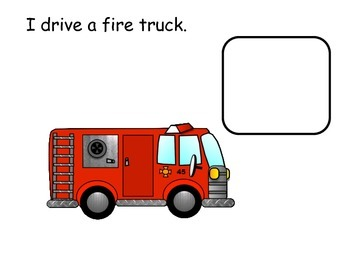 Community: Firefighter Interactive Reader; Kindergarten; Special Ed., Autism;