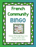 Community French Bingo Cards (En ville)