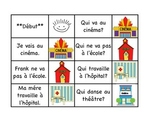 "Community - 32 French Race Card Game "" I have, who has"" Fr"