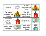 Community - 32 Intermediate French Race Card Game - Oral communication