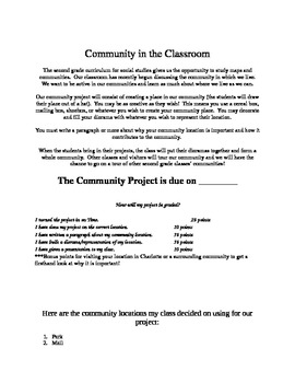 Community Fun Project