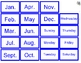 Community Helper 12 Month Calendar Set