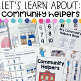 Community Helper Activities for Special Education