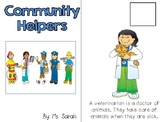 Community Helper Adapted Book