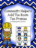 Community Helper Add The Room -Ten Frames