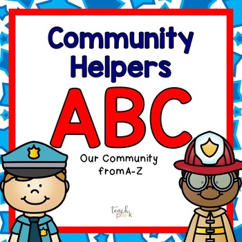 Community Helper Alphabet!