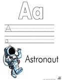 Community Helper Alphabet Writing