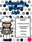 Community Helper Packet - Baker