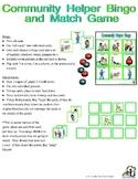 Community Helper Bingo