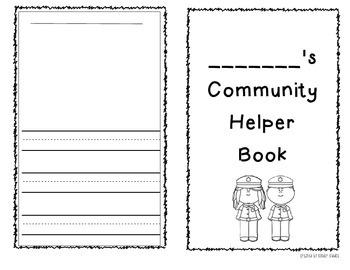 Community Helper Book