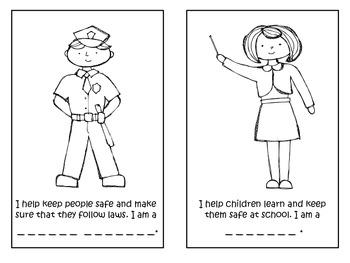 Community Helper Booklet