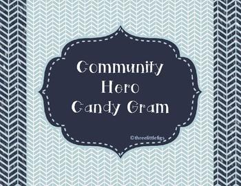 Community Helper Candy Gram