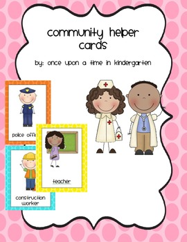 Community Helper Cards