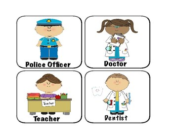 Community Helper Cards