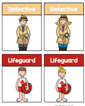 Community Helper Cards Set 2