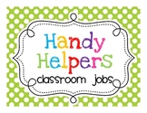 Community Helper Classroom Jobs