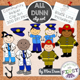 Community Helper Clip Art