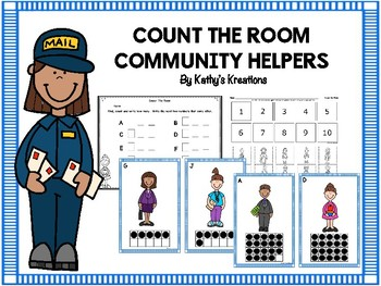 Community Helper Count The Room 1-10 And 11-20