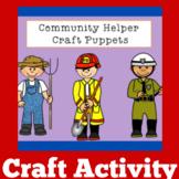 Community Helpers Kindergarten | Community Helpers Craft