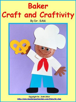 Community Helpers / Baker Craft and Craftivity