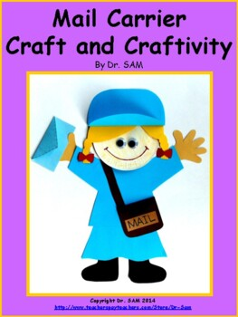 Community Helpers / Mail Currier Craft and Craftivity