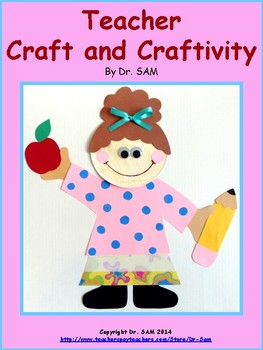 Community Helpers / Teacher Craft and Craftivity by Dr SAM | TpT
