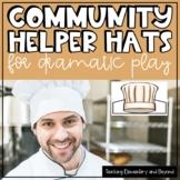 Community Helper Hats for Dramatic Play
