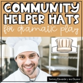 35 Community Helper Hats for Dramatic Play or Reader's Theatre
