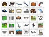 Community Helper Cut/Sort Set 1: Librarian, Dentist, Farmer, Pilot