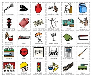 Community Helper Cut/Sort Set 6: Soldier, Musician, Crossing Guard, Conductor