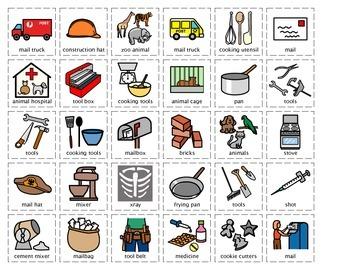 Community Helper Cut/Sort Sets 1 - 6 Value Pack
