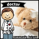 Community Helper: Doctor Emergent Reader Set
