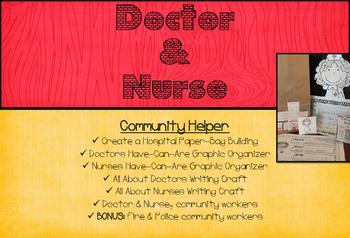 Community Helper: Doctor & Nurse