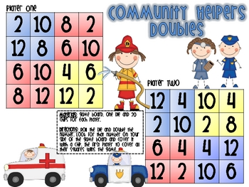 Community Helper Doubles