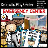 Emergency Center/Hospital/Police/FireStation Dramatic Play Set