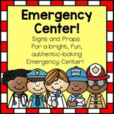 Emergency Center/Hospital/Police/FireStation Dramatic Play