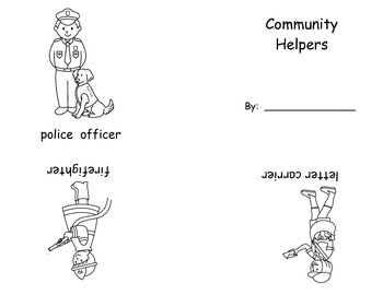 Community Helper Emergent Reader
