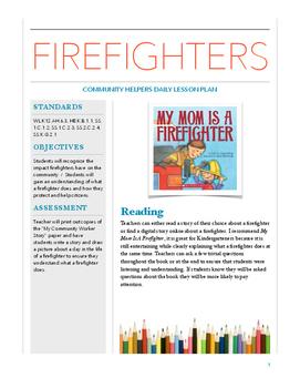 firefighter lesson plans for preschool community helper firefighter lesson plan by ms teach by 502
