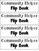 Community Helper Flip Book - FREE!