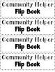 Community Helper Flip Book - FREE!