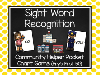 Community Helper Fry's First 50 Sight Word Game