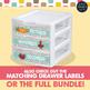 Teacher Toolbox Drawer Labels - Retro Design Style