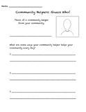 Community Helper: Guess Who