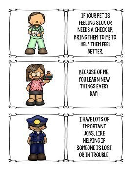 Community Helper Guessing Game