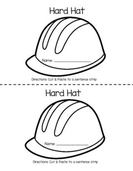 Community Helper Hat Crafts
