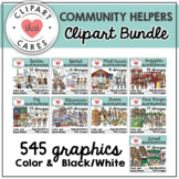 Community Helper Clipart Bundle by Clipart That Cares