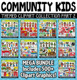 Community Helper Kids Clipart Mega Bundle Part 2
