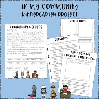 Community Helper - Kindergarten Project