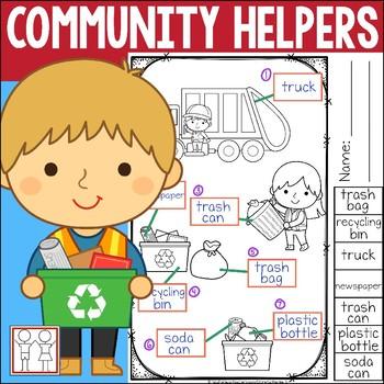 Community Helper Label
