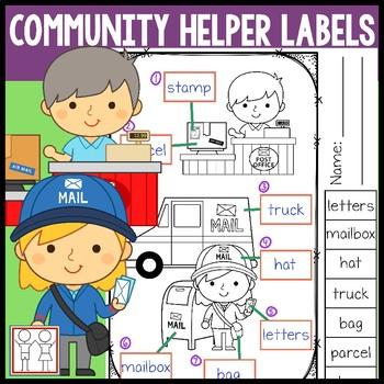 Community Helper Labels